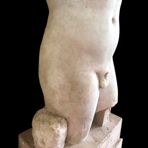 A Roman Marble Torso of Dionysus, ca. 1st century CE - Sands of Time Ancient Art