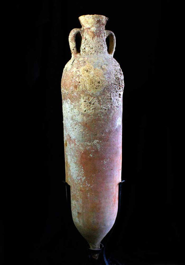 A shipwrecked Roman Transport Amphora, Carthage, ca. 3rd century AD - Sands of Time Ancient Art