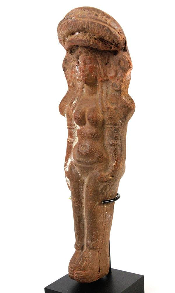 A Terracotta Figure of Isis–Aphrodite, Roman period, 2nd–3rd century AD - Sands of Time Ancient Art
