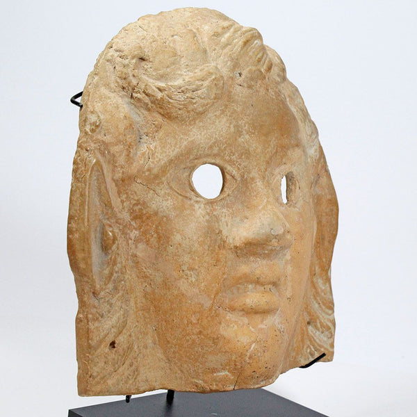 A Roman Terracotta Mask of a Satyr, ca 1st century AD - Sands of Time Ancient Art