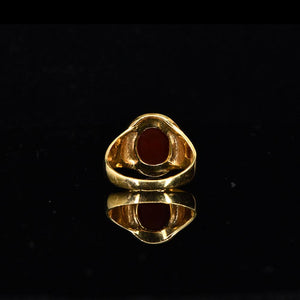 A Neo-Classical Red Jasper Intaglio Ring, ca. 19th century - Sands of Time Ancient Art