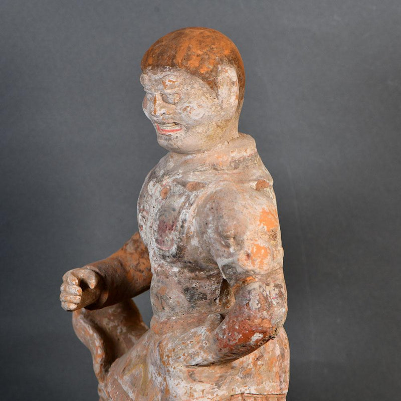 * A Chinese Lokapala Temple Spirit Guardian, Tang Dynasty, ca. 618 - 906 CE - Sands of Time Ancient Art