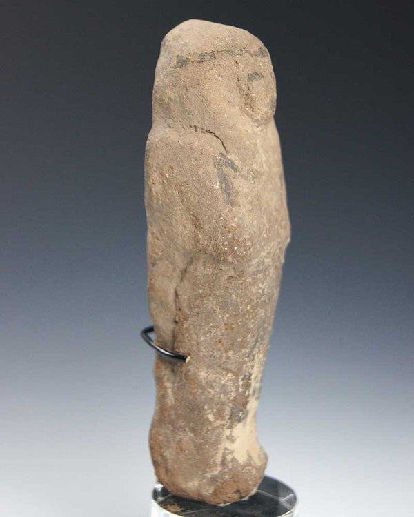 An Egyptian Nile Clay Shabti, Ramesside Period ca 1292-1072BC