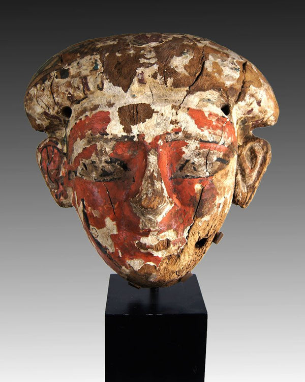 An Egyptian  Anthropoid Mummy Mask, 21st Dynasty ca 1069 - 945 BC - Sands of Time Ancient Art