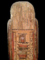 An Egyptian Anthropoid Wood Sarcophagus for Padi-ef-pa-khasef, 26th Dynasty ca. 664 - 525 BCE - Sands of Time Ancient Art