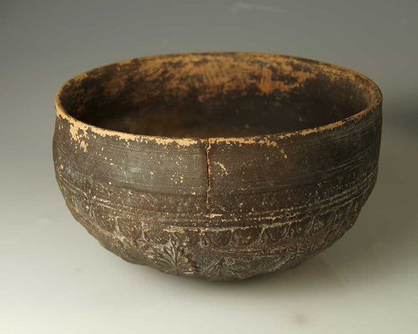A Megarian-ware Decorated Bowl, Hellenistic Period, ca 2nd century BC - Sands of Time Ancient Art