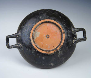 An Attic Black-Glazed Stemless Kylix, ca 5th century BC - Sands of Time Ancient Art