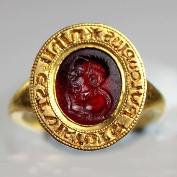 A Roman Intaglio gemstone of Cicero, ca late 1st century BC - Sands of Time Ancient Art