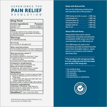CBDMEDIC™ Active Sport Pain Relief Ointment - 1.4oz