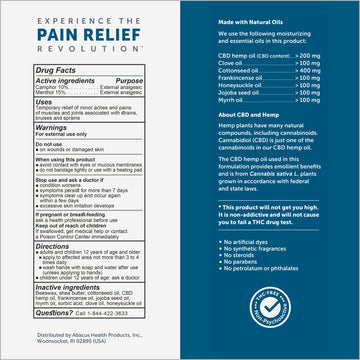 CBDMEDIC™ Active Sport Pain Relief Stick - 1oz
