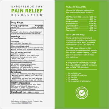 CBDMEDIC™ Arthritis Aches & Pain Relief Moisturizing Hand Cream - 1.7oz