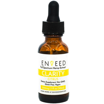 ENVEED CBD Oil Tincture - Clarity - 30ml (3 Options)