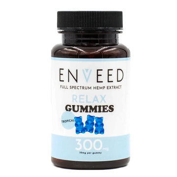 ENVEED Premium CBD Gummies - 300mg - 30 Count (2 Flavor Options)