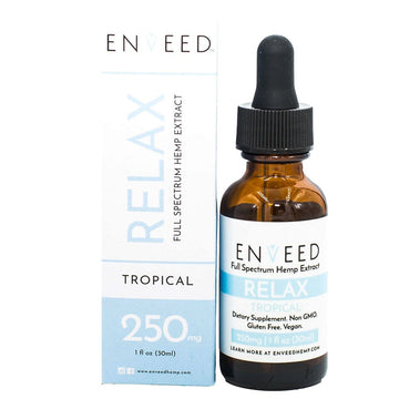 ENVEED CBD Oil Tincture - Relax - 30ml (3 Options)