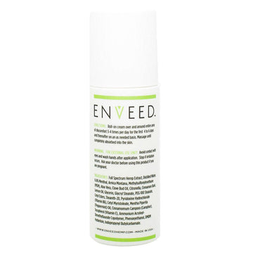 ENVEED Relief CBD Roll-On Cream - 3oz - 300mg