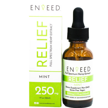 ENVEED CBD Oil Tincture - Relief - 30ml (3 Options)