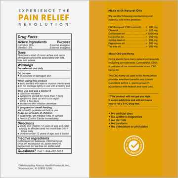 CBDMEDIC™ Foot & Ankle Pain Relief Ointment - 1.4oz