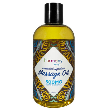 Harmony Harmony Hemp Signature Massage Oil - 8oz - 500mg