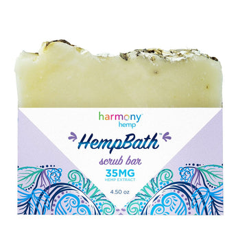 Harmony Hemp Hemp Bath™ Scrub Bar - 4.5oz - 35mg