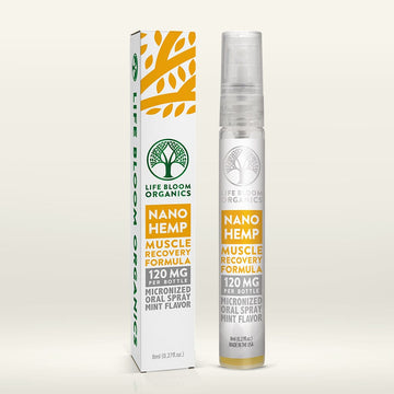 Life Bloom Organics CBD Oral Spray - 8ml - 120mg (5 Options)
