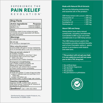 CBDMEDIC™ Muscle & Joint Pain Relief Spray - 1.7 fl oz
