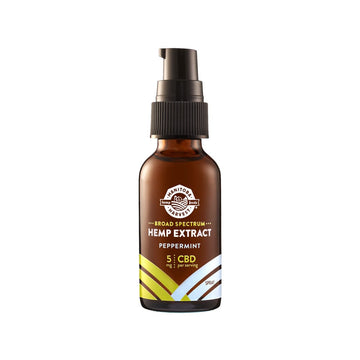 Manitoba Harvest Broad Spectrum CBD Oil Spray - Peppermint - 5mg