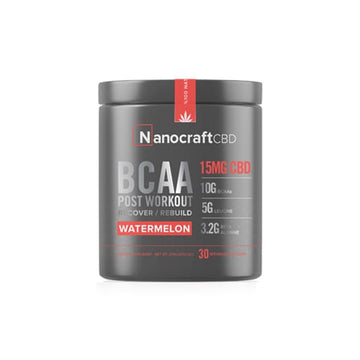 NanoCraft CBD™ - BCAA and CBD Post Workout Powder