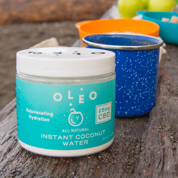 OLEO™ Instant Drink Mix with OleoCBD™ - 25mg - 10 Serving Jar (5 Flavor Options)