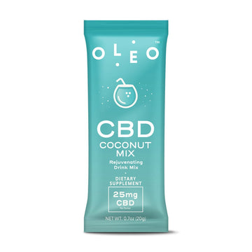 OLEO™ Instant Mix with OleoCBD™ Single Pouches - 25mg (4 Flavor Options)