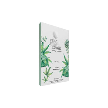 Prana Principle™ Cellulose Face Mask With CBD - 10mg - 2 Pack