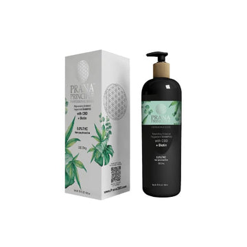 Prana Principle™ Nourishing Botanical Peppermint CBD Shampoo + Biotin - 25mg