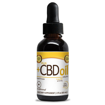 PlusCBD Oil™ Drops - 30ml (3 Flavor Options)