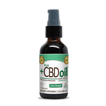 PlusCBD Oil™ CBD Spray (3 Flavor Options)