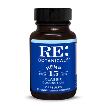 RE Botanicals Hemp 15 Classic Capsules - 15mg (3 Options)