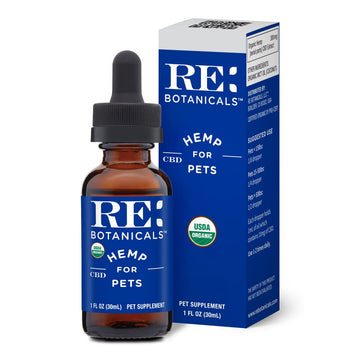 RE Botanicals Hemp for Pets Tincture - 30ml - 300mg
