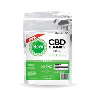 Reliva CBD Wellness Gummies - 100mg - 10 Pack