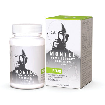 Montel by Select CBD Capsules  - 1500mg - 30 Count (2 Options)