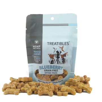 Treatibles® Grain Free Hard Chews (3 Flavor Options)