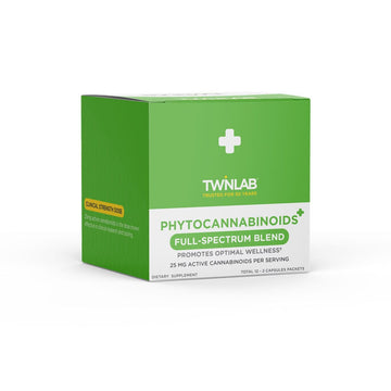 Twinlab Phytocannabinoids+ Capsules - 25mg (2 Options)