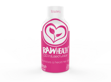 RAW Health CBD Infused Water - 25mg (3 Flavor Options)