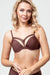 Marlies Dekkers Dame de Paris Ruskeat Push-up Rintaliivit