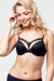 Marlies Dekkers Dame de Paris Mustat Push-up Rintaliivit