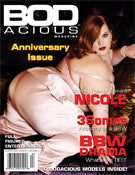 "BODacious Magazine Issue  4 SOLD OUT ""COLLECTOR'S"""