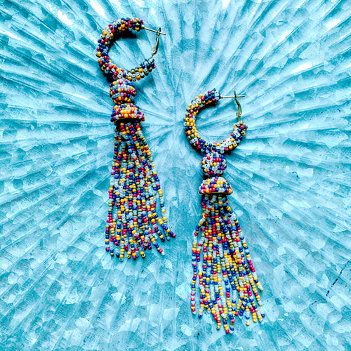Brittany Beaded Tassels