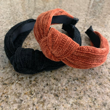 Load image into Gallery viewer, Corduroy Knot Headband