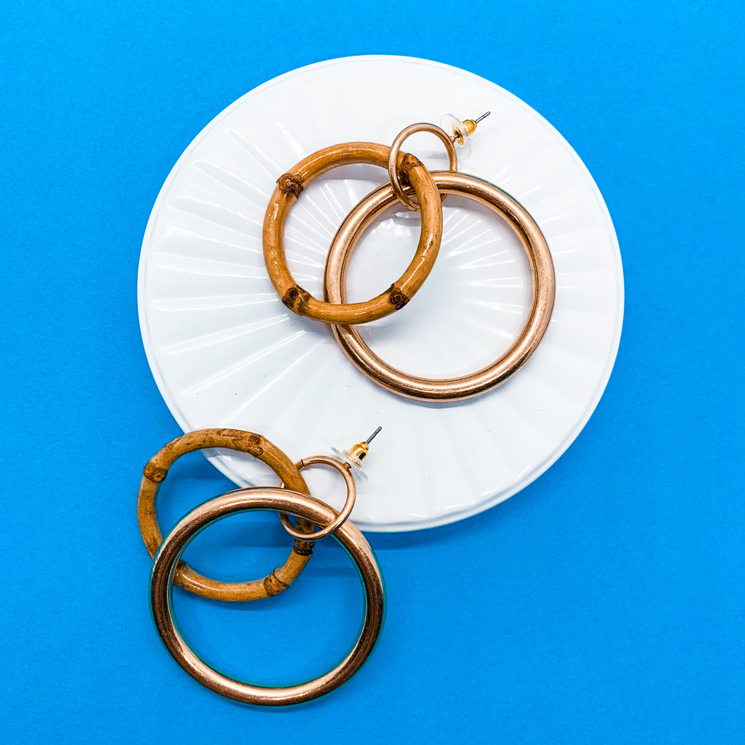 Classic Bamboo Hoops