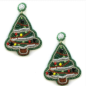 Christmas Beaded Tree