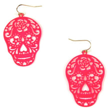 Load image into Gallery viewer, Halloween Pink Sugar Skull