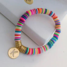 Load image into Gallery viewer, Charm Jumbo Skittles Bracelets
