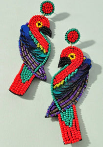Tropical Beaded Bird
